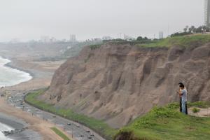 Rzut oka na panoramę Limy