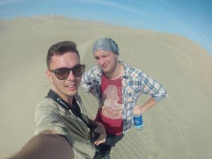 Daleko od oazy nie odeszliśmy, ale byliśmy na pustyni!